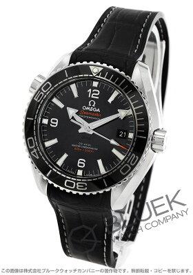 オメガ OMEGA 腕時計 シーマスター プラネットオーシャン マスタークロノメーター アリゲーターレザー 600m防水 メンズ 215.33.44.21.01.001