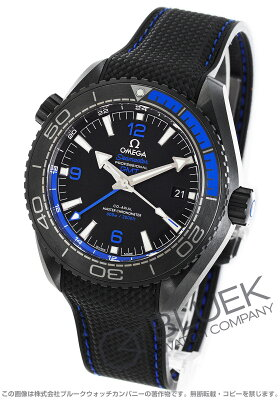 オメガ シーマスター プラネットオーシャン GMT 600m防水 腕時計 メンズ OMEGA 215.92.46.22.01.002