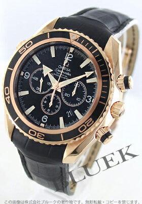 オメガ OMEGA 腕時計 シーマスター プラネットオーシャン RG金無垢 アリゲーターレザー 600m防水 メンズ 222.63.46.50.01.001