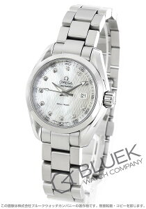オメガ OMEGA 腕時計 シーマスター アクアテラ ダイヤ レディース 231.10.30.60.55.001