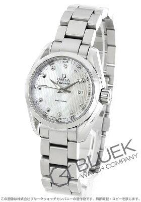 オメガ シーマスター アクアテラ ダイヤ 腕時計 レディース OMEGA 231.10.30.60.55.001