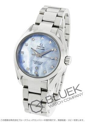 オメガ シーマスター アクアテラ マスターコーアクシャル ダイヤ 腕時計 レディース OMEGA 231.10.34.20.57.002