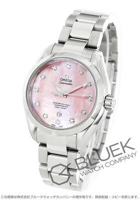 オメガ シーマスター アクアテラ マスターコーアクシャル ダイヤ 腕時計 レディース OMEGA 231.10.34.20.57.003