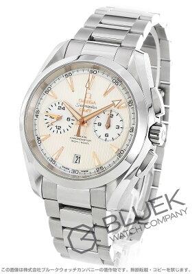 オメガ シーマスター アクアテラ クロノグラフ GMT 腕時計 メンズ OMEGA 231.10.43.52.02.001