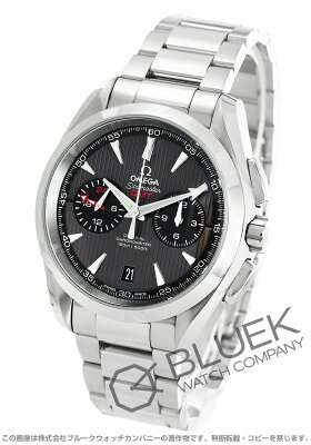 オメガ OMEGA 腕時計 シーマスター アクアテラ GMT メンズ 231.10.43.52.06.001