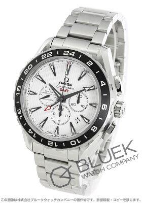 オメガ シーマスター アクアテラ クロノグラフ GMT 腕時計 メンズ OMEGA 231.10.44.52.04.001
