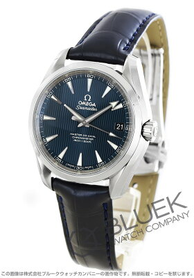 オメガ OMEGA 腕時計 シーマスター アクアテラ アリゲーターレザー メンズ 231.13.39.21.03.001