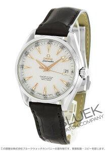 オメガ OMEGA 腕時計 シーマスター アクアテラ アリゲーターレザー メンズ 231.13.42.21.02.003