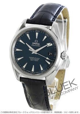 オメガ シーマスター アクアテラ アリゲーターレザー 腕時計 メンズ OMEGA 231.13.42.21.03.001