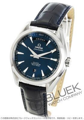 オメガ OMEGA 腕時計 シーマスター アクアテラ デイデイト アリゲーターレザー メンズ 231.13.42.22.03.001