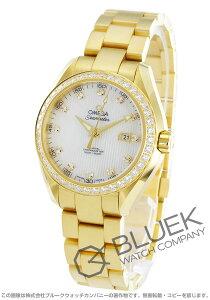 オメガ OMEGA 腕時計 シーマスター アクアテラ ダイヤ YG金無垢 レディース 231.55.34.20.55.001