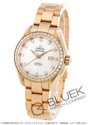 オメガ OMEGA 腕時計 シーマスター アクアテラ ダイヤ RG金無垢 レディース 231.55.34.20.55.002