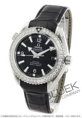 オメガ OMEGA 腕時計 シーマスター プラネットオーシャン ダイヤ アリゲーターレザー 600m防水 メンズ 232.18.42.21.01.001