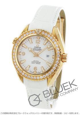 オメガ OMEGA 腕時計 シーマスター プラネットオーシャン ダイヤ RG金無垢 アリゲーターレザー 600m防水 ユニセックス 232.58.38.20.04.001