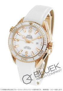 オメガ OMEGA 腕時計 シーマスター プラネットオーシャン セラゴールド RG金無垢 アリゲーターレザー 600m防水 ユニセックス 232.63.38.20.04.001