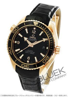 オメガ OMEGA 腕時計 シーマスター プラネットオーシャン セラゴールド RG金無垢 アリゲーターレザー 600m防水 メンズ 232.63.46.21.01.001