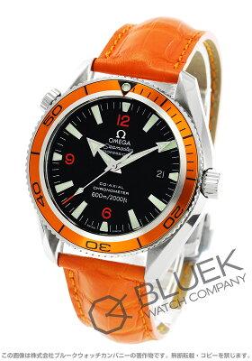 オメガ OMEGA 腕時計 シーマスター プラネットオーシャン アリゲーターレザー 600m防水 メンズ 2909.50.38