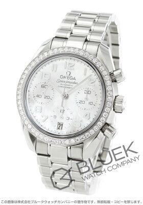 オメガ スピードマスター 38 クロノグラフ ダイヤ 腕時計 ユニセックス OMEGA 324.15.38.40.05.001
