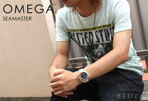 オメガ シーマスター プラネットオーシャン 600m防水 腕時計 メンズ OMEGA 2208.50