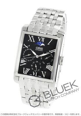 オリス ORIS 腕時計 レクタンギュラー コンプリケーション メンズ 581 7658 4074M