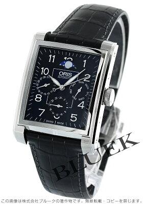 オリス レクタンギュラー コンプリケーション ムーンフェイズ 腕時計 メンズ ORIS 582 7658 4034D
