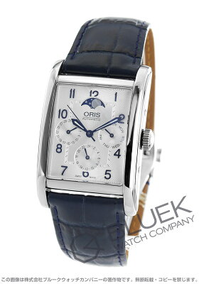 オリス レクタンギュラー コンプリケーション ムーンフェイズ 腕時計 メンズ ORIS 582 7694 4031D