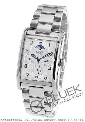 オリス レクタンギュラー コンプリケーション ムーンフェイズ 腕時計 メンズ ORIS 582 7694 4031M