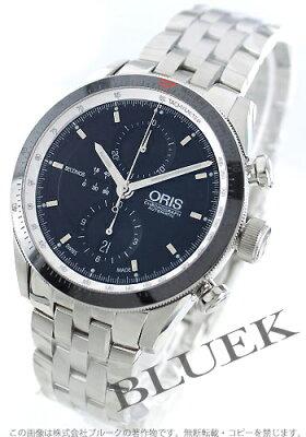 オリス アーティックス クロノグラフ 腕時計 メンズ ORIS 674 7661 4154M