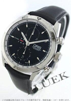 オリス アーティックス クロノグラフ 腕時計 メンズ ORIS 674 7661 4174D