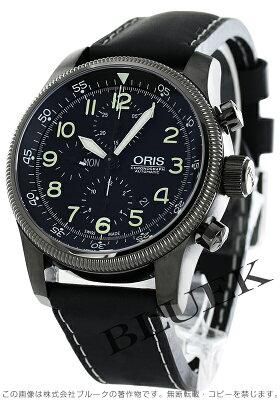 オリス ORIS 腕時計 ビッグクラウン タイマー メンズ 675 7648 4234F