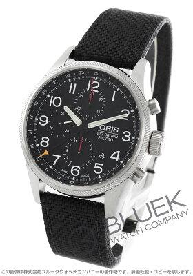 オリス ORIS 腕時計 ビッグクラウン プロパイロット キャンパスレザー メンズ 677 7699 4164D