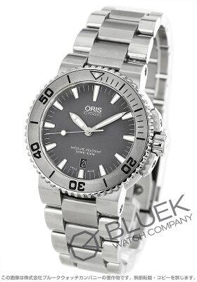 オリス アクイス デイト 300m防水 腕時計 メンズ ORIS 733 7653 4153M