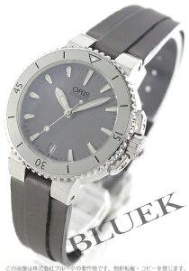 オリス ORIS 腕時計 アクイス サテンレザー 300m防水 レディース 733 7652 4143D