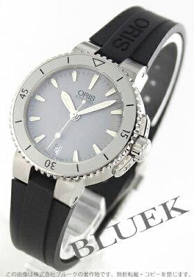 オリス ORIS 腕時計 アクイス 300m防水 レディース 733 7652 4143R