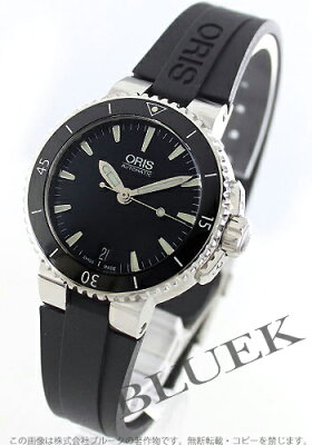 オリス ORIS 腕時計 アクイス 300m防水 レディース 733 7652 4154R