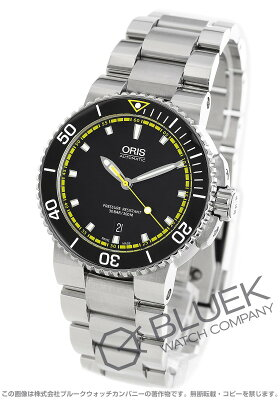 オリス アクイス デイト 300m防水 腕時計 メンズ ORIS 733 7653 4127M
