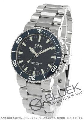 オリス ORIS 腕時計 アクイス デイト 300m防水 メンズ 733 7653 4155M