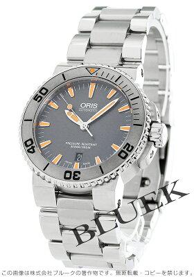 オリス ORIS 腕時計 アクイス デイト 300m防水 メンズ 733 7653 4158M