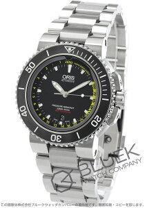 オリス ORIS 腕時計 アクイス デプスゲージ 500m防水 替えベルト付き メンズ 733 7675 4154