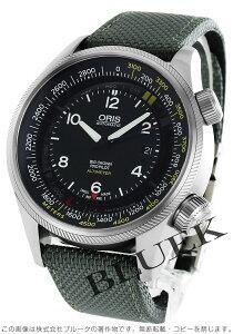オリス ORIS 腕時計 ビッグクラウン サテンレザー メンズ 733 7705 4164DGY