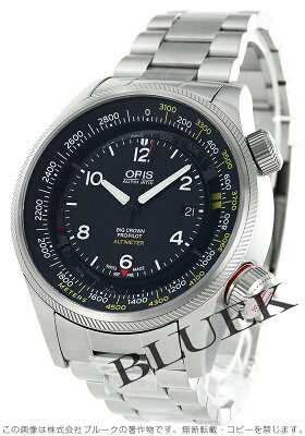 オリス ORIS 腕時計 ビッグクラウン メンズ 733 7705 4164M