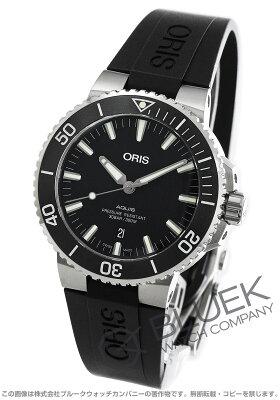 オリス アクイス デイト 300m防水 腕時計 メンズ ORIS 733 7730 4124R