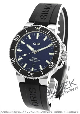 オリス ORIS 腕時計 アクイス デイト 300m防水 メンズ 733 7730 4135R