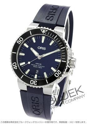 オリス ORIS 腕時計 アクイス デイト 300m防水 メンズ 733 7730 4135RBL
