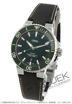 オリス アクイス デイト 300m防水 腕時計 メンズ ORIS 733 7730 4157F