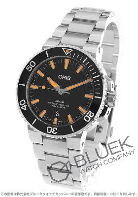 オリス アクイス デイト 300m防水 腕時計 メンズ ORIS 733 7730 4159M