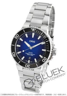 オリス アクイス クリッパートン 世界限定2000本 300m防水 腕時計 メンズ ORIS 733 7730 4185M
