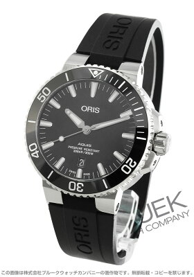 オリス ORIS 腕時計 アクイス チタニウム デイト 300m防水 メンズ 733 7730 7153R