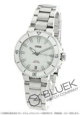 オリス アクイス デイト 300m防水 腕時計 レディース ORIS 733 7731 4151M