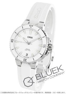 オリス ORIS 腕時計 アクイス デイト 300m防水 レディース 733 7731 4151R